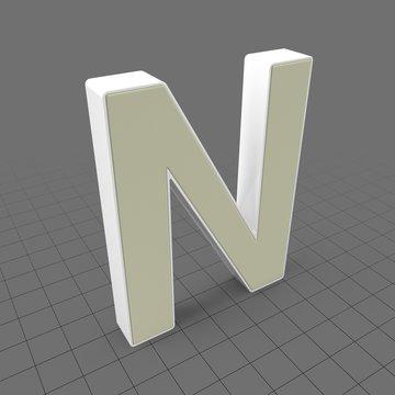 Letters Simple N