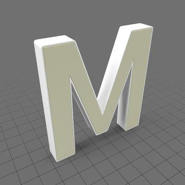 Letters Simple M