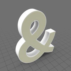 Letters Simple Ampersand