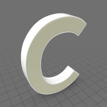Letters Simple C