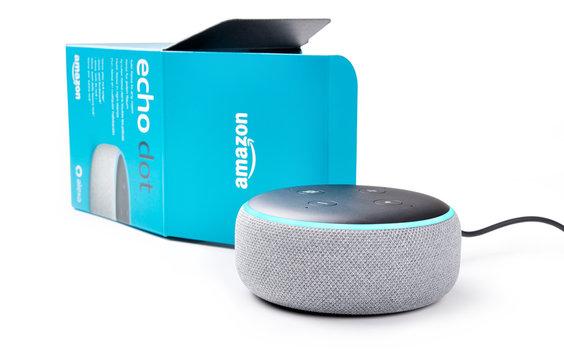 Amazon echo dot with Alexa app