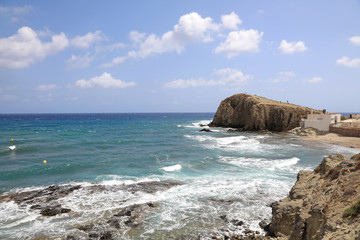 Papier Peint - playa almería isleta del moro mediterráneo 4M0A6561-as20