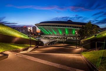 Spodek Sports and Entertainment Hall. Katowice, Poland.