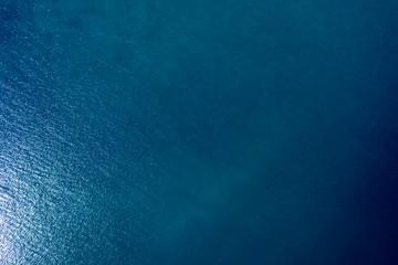 Wall Mural - Sea surface aerial view