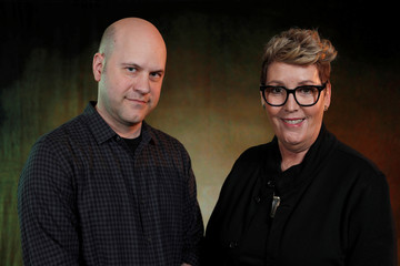 """Director Scanlon and producer Rae pose for a portrait while promoting the film """"Onward"""" in Los Angeles"""