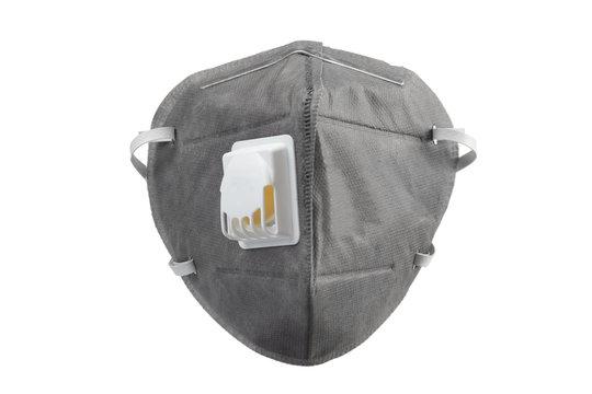 Anti virus mask with breathing valve.