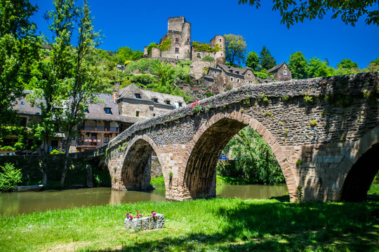 Belcastel, Aveyron, Occitanie, France.