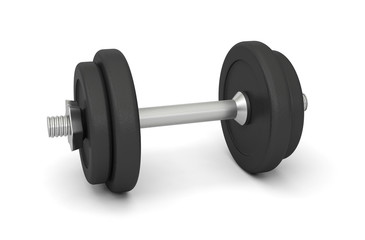 dumbbell bodybuilding weightlifting sport weights 3D