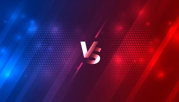 battle versus vs background for sports game