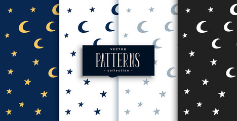 Custom blinds child's with your photo moon and stars cute pattern set design