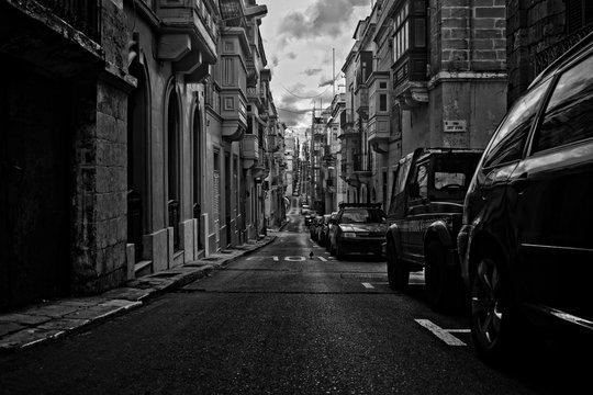 Vintage Roads in Cottonera, Malta
