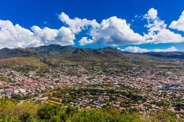 Fotomurales - Matagalpa skyline cityscape Nicaragua