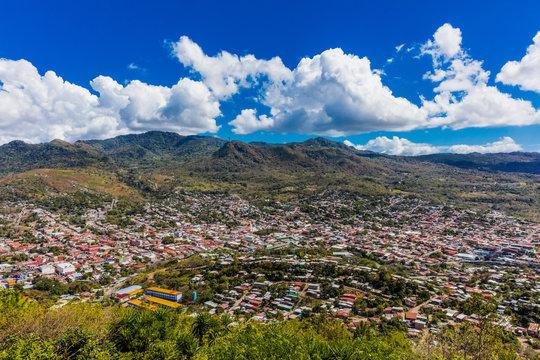 Matagalpa skyline cityscape Nicaragua
