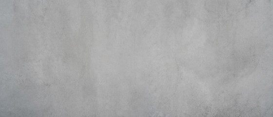 Photo sur Aluminium Beton Texture of a smooth gray concrete wall as a background