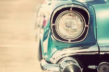 Fotomurales - headlight of old car