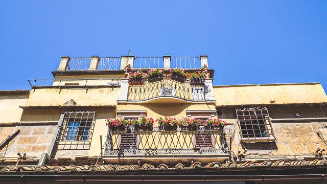 Balconies of the Ponte Vecchio