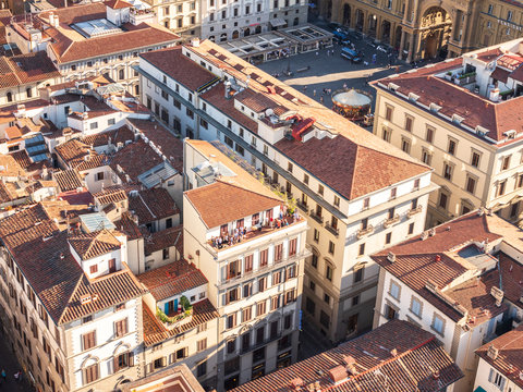 The Firenze roofs