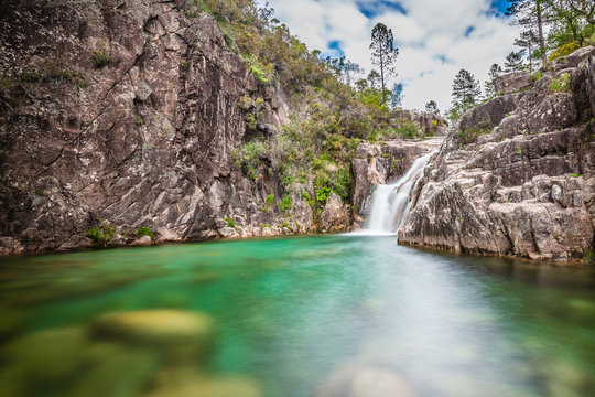 Portela Do Homem Waterfall - Peneda-Geres,Portugal