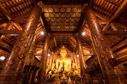 Luang Prabang Buddha temple