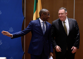 U.S. Secretary of State Mike Pompeo visits Senegal
