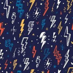 Lightning Bolt Pattern photos, royalty