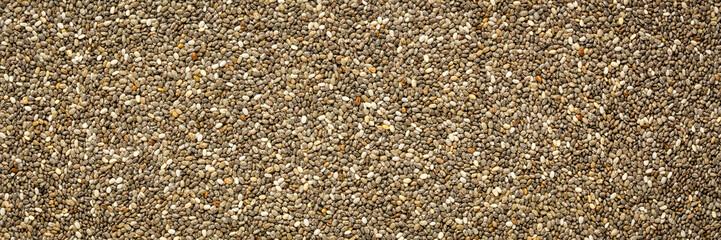 chia seeds closeup background