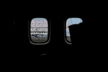 U.S. President Donald Trump attends NASCAR's Daytona 500 race