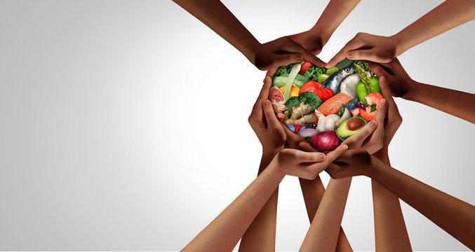 People Eating Healthy