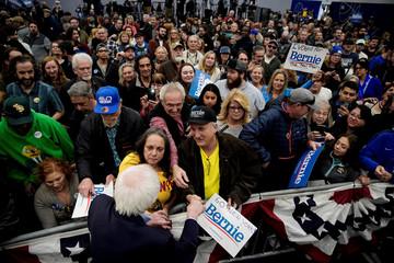Democratic 2020 U.S. presidential candidate Senator Bernie Sanders attends a campaign event in Carson City