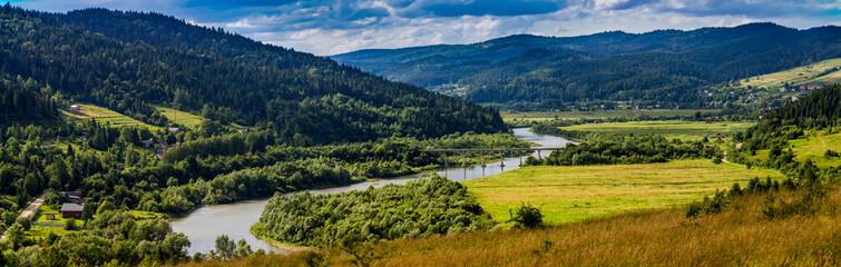 carpathian rural landscape