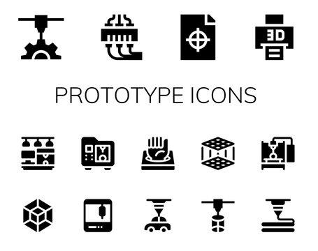 prototype icon set