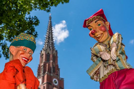 Marionetten auf der Auer Dult in München_7036