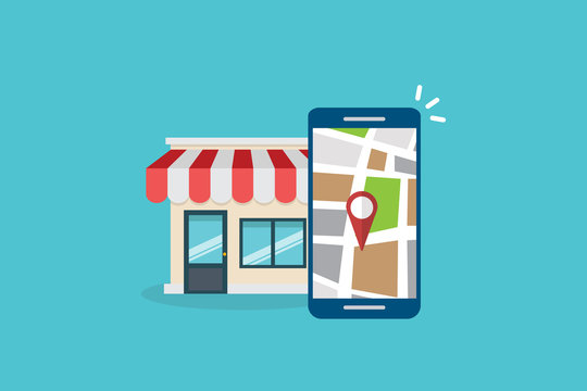 Local SEO. Local search marketing ecommerce
