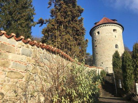 Burg in Überlingen am Bodensee