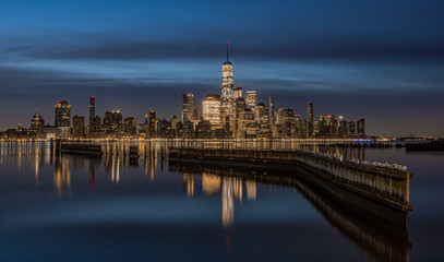 Wall Mural - New York City Skyline at Night