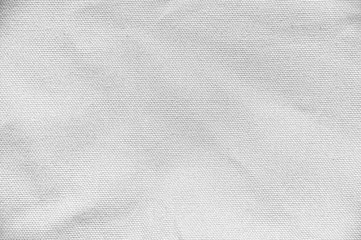 Photo sur Toile Tissu White cotton fabric canvas texture background for design blackdrop or overlay background