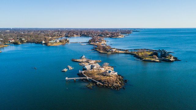 Aerial Views of Mamaroneck, New Rochelle, and Larchmont