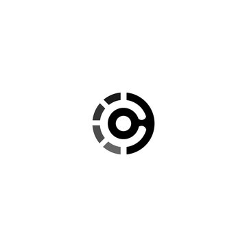 C Letter Logo Design Template Vector.