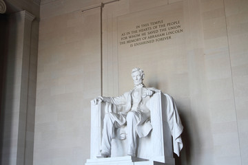Abraham Lincoln Stsatue in Washington DC Fotomurales
