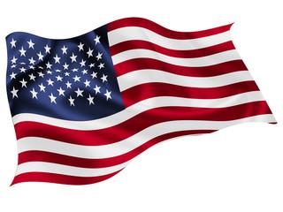 アメリカ  国旗 世界 アイコン Fotomurales