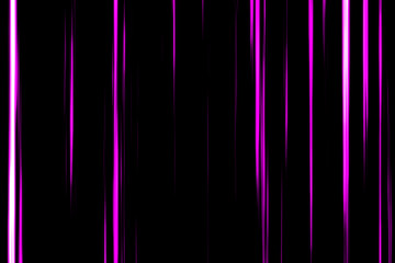 Pink lines vertical in black background. Inspired by japanese Anime.