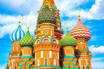 Wall Mural - St Basil's Cathedral in Moscow
