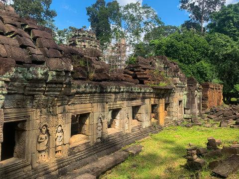 Galerie extérieur de Preah Khan