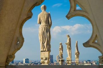 Foto auf Leinwand Milan Il Duomo di Milano