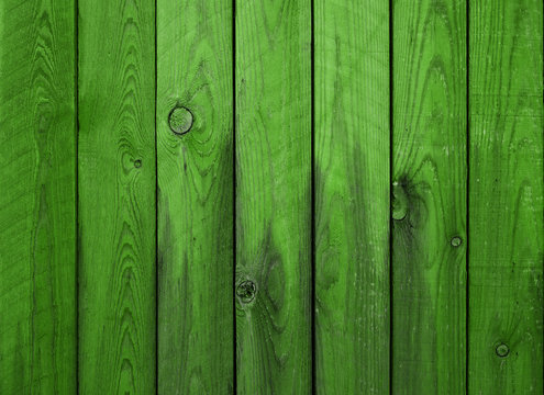 green wood planks background wooden
