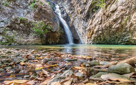 Waterfalls in Azuero peninsula, Panama.