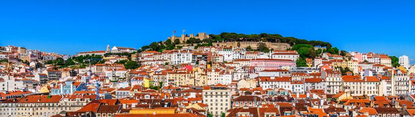 Lisbon, Portugal cityscape Fotomurales