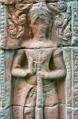 Devata de Banteay Kdei sans visage