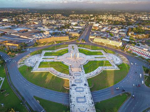 Plaza de la Bandera Republica Dominicana