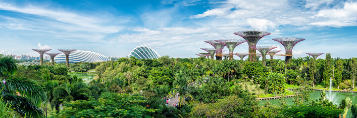 Poster de jardin Singapoure Gardens by the Bay in Singapore